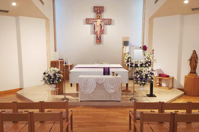 生花飾り(棺横安置)①