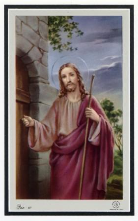 扉をたたくキリスト